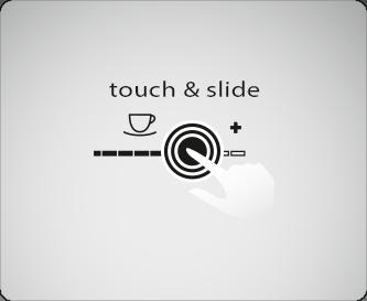터치 & 슬라이드 컨셉